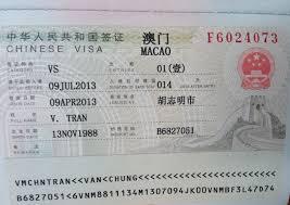 Visa Macao
